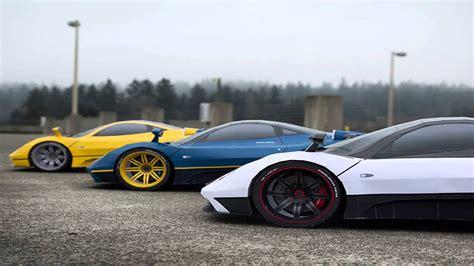 Pagani Zonda F Vs Bugatti Veyron Drag Race
