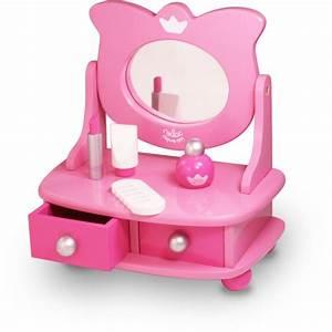Coiffeuse En Bois Petite Fille : coiffeuse de table enfant en bois avec accessoires vilac jouets des bois ~ Teatrodelosmanantiales.com Idées de Décoration