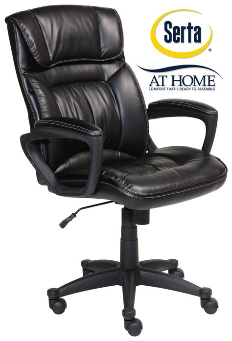 Serta Executive Chair Manual by Serta Black Executive Office Chair