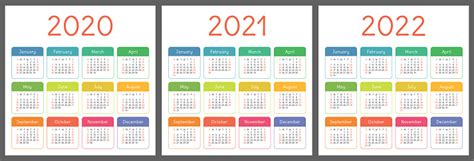 calendar    years vertical vector calender