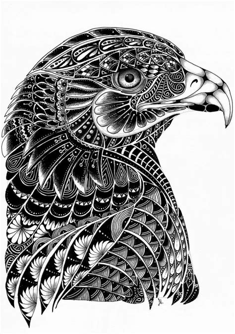 Lilys Tangles: Eagle is creative inspiration for us. ️Fosterginger.Pinterest.Com ️No Pin Limits