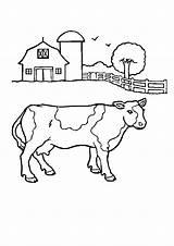 Farmer Coloring sketch template