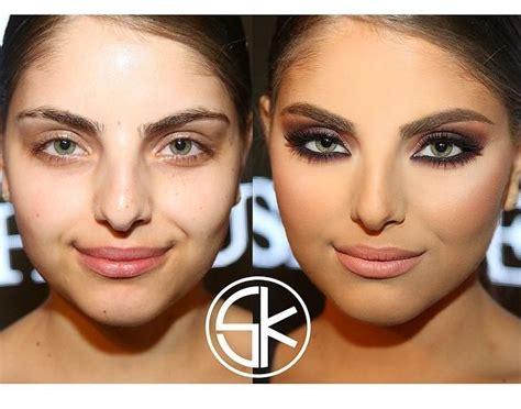 До и после макияж как средство изменения внешности