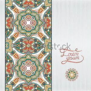 Verspielter Floraler Design Stil : floral geometrischen hintergrund vintage ornament design vorlage f r buch karte postkarte ~ Watch28wear.com Haus und Dekorationen