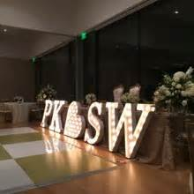 Marquee house of letters 3ft marquee letter rental for Marquee letter rental dallas