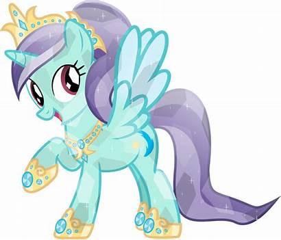 Crystal Ponies Pony Princess Magic Friendship Vector
