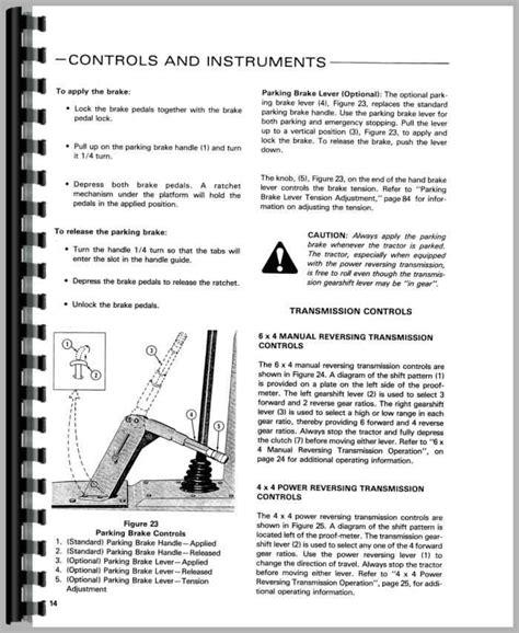 ford  tractor loader backhoe operators manual