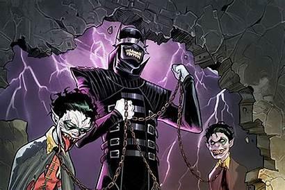 Batman Laughs Joker Metal Dc Dark Comics