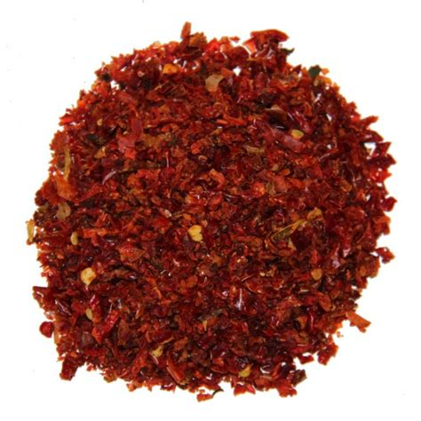 Sarkanā paprika granulas 3*3 - MangoSpices.lv