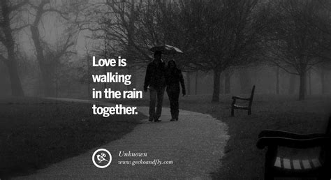 Romantic Quotes About Rain