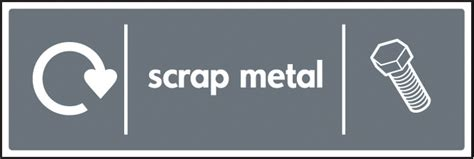 Scrap Metal Recycling Signs