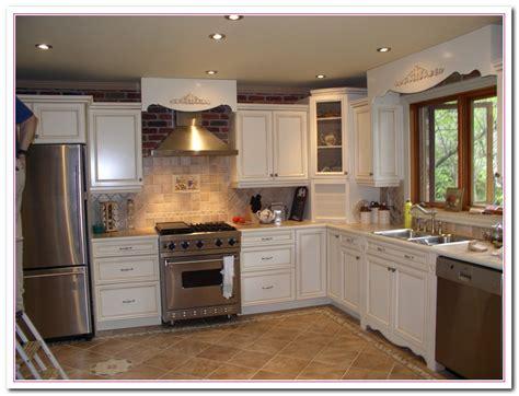 Two Tone Kitchen Cabinet Ideas - white kitchen design ideas within two tone kitchens home and cabinet reviews