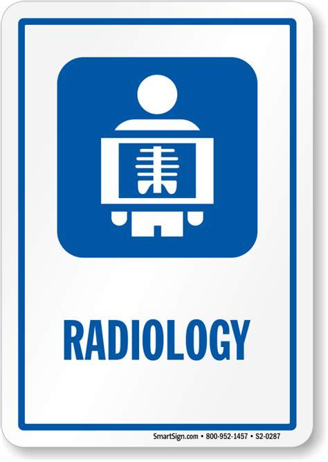 Radiology Hospital Radiation Sign, X Ray Image Symbol, SKU