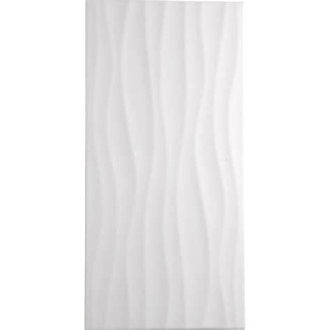 pose de cuisine prix carrelage mur blanc décor hawaï wave l 25 x l 50 cm