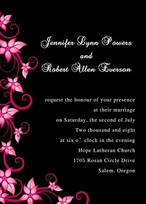 formal wedding invitations ideas wohh wedding