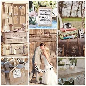 Deco Mariage Vintage : 5 temas para bodas tematicas originales ~ Farleysfitness.com Idées de Décoration