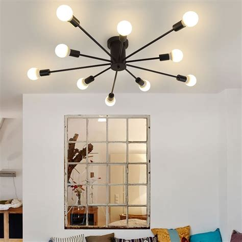 lamparas de techo  sala decor  en mercado libre