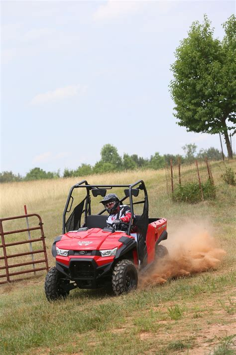 KYMCO Unveils New Smaller Side-By-Side, ATV With EPS ...