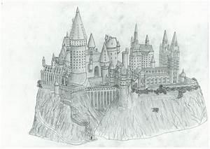 Hogwarts sketch for diploma | I solemnly swear I'm up to ...