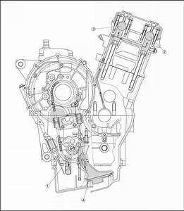 Lubrication Diagrams - Yamaha Fz6 Ss