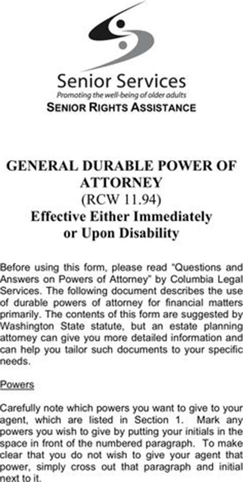 free printable power of attorney forms my san antonio mobile notary power of