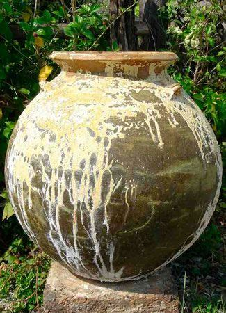 thai limestone yellow bulb jar bulb limestone garden pots