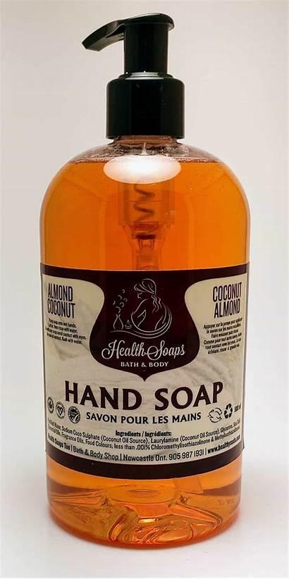 Soap Coconut Almond 500ml Pump Soaps Health