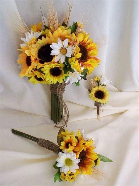 Sunflower Bouquet My Dream Wedding Pinterest