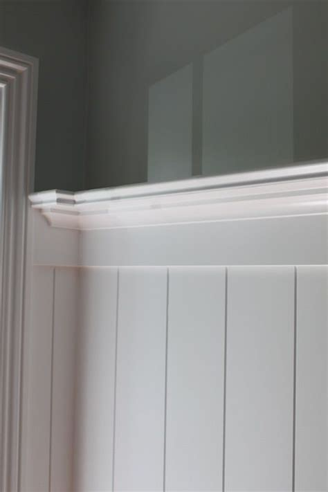 groove wainscot decor dining room wainscoting