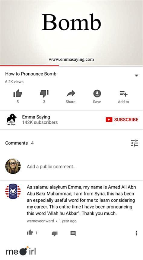 Meme Pronunciation Audio - 25 best memes about how to pronounce how to pronounce memes
