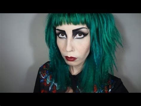 siouxsie sioux inspired makeup tutorial youtube