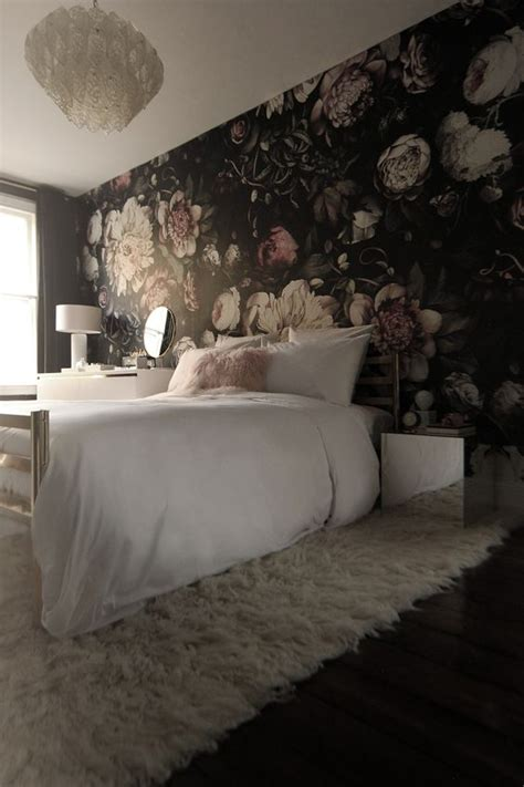 stylish ways   floral wallpaper   home