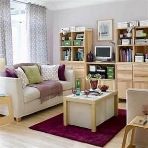 Teppich Unter Sofa : kleine r ume einrichten 50 coole bilder ~ Markanthonyermac.com Haus und Dekorationen