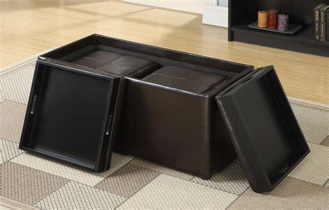 small rectangular storage ottoman amazon com simpli home avalon 3 piece rectangular