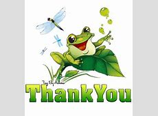 Thank You Frog Clipart