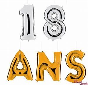 Deco 18 Ans : lot de 5 ballons geants 18 ans d coration et accessoires pas cher pour organiser une soir e ~ Teatrodelosmanantiales.com Idées de Décoration