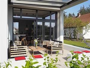 Uberdachte terrasse und sonnige fruhstucksterrasse for überdachte terrasse