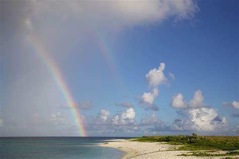 kostenlose bild regenbogen strand insel sand sommerzeit