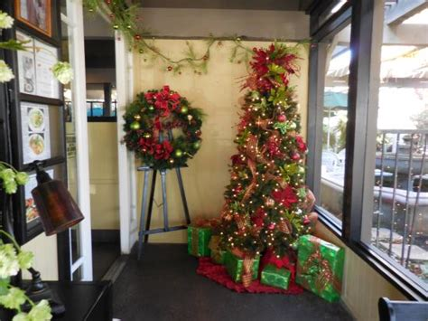 garden cafe fallbrook ca lobby decorated for christmas picture of garden center cafe and grill fallbrook tripadvisor
