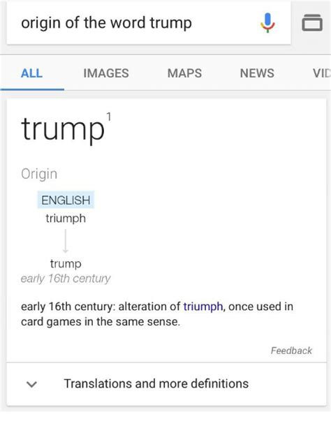 Origin Of The Word Meme - origin of the word trump all maps images news vid trump origin english triumph trump early 16th