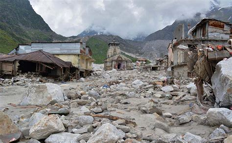 Photos Kedarnath Temple Before And After The Uttarakhand