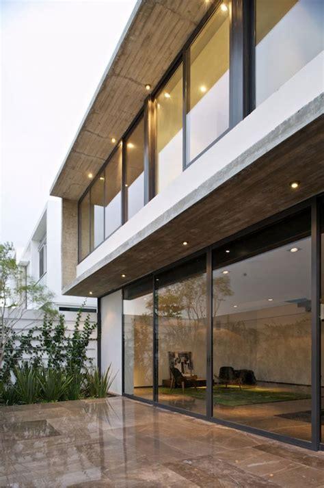 interesting house facade  modern mexico design