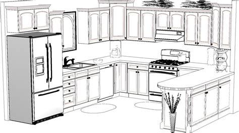 kitchen design sketch awesome  ic mimarlik