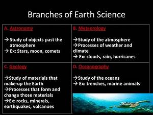 Introduction To Earth  Environmental Science