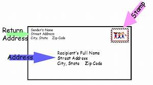 how to address an envelope to a po box With letter envelope address
