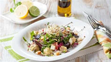 pfluecksalat mit thunfisch von armin rossmeier zdfmediathek
