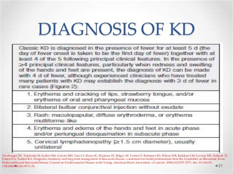 Kawasaki Disease Diagnosis by Kawasaki Disease