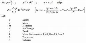 Masse Von Luft Berechnen : dampfdichte prosisoft gmbh ~ Themetempest.com Abrechnung