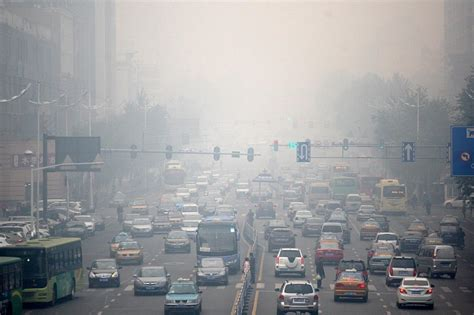 choking smog  china antarctica journal