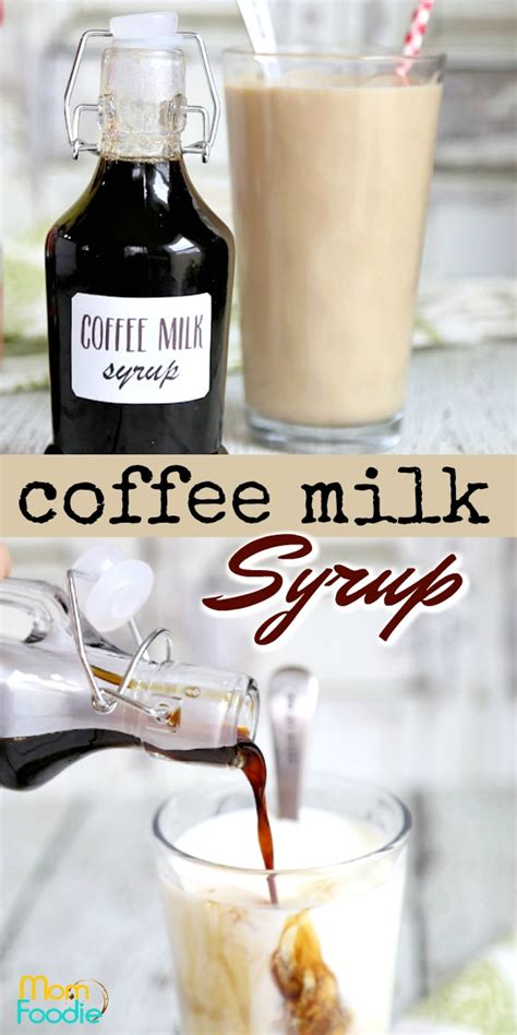Coffee milk is kind of rhode island's answer to new york's egg cream. Coffee Syrup Recipe: Make Homemade Coffee Syrup
